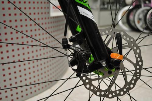 гидравлические тормоза на велосипед фото