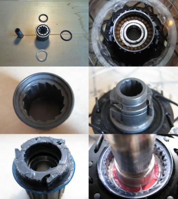 ремонт втулки заднего колеса велосипеда фото 1
