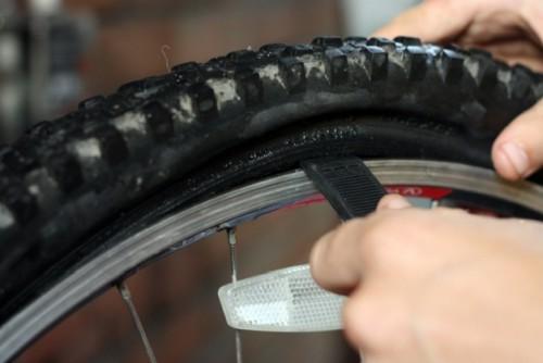 ремонт заднего колеса велосипеда фото 1
