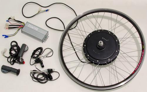 электромотор для велосипеда фото