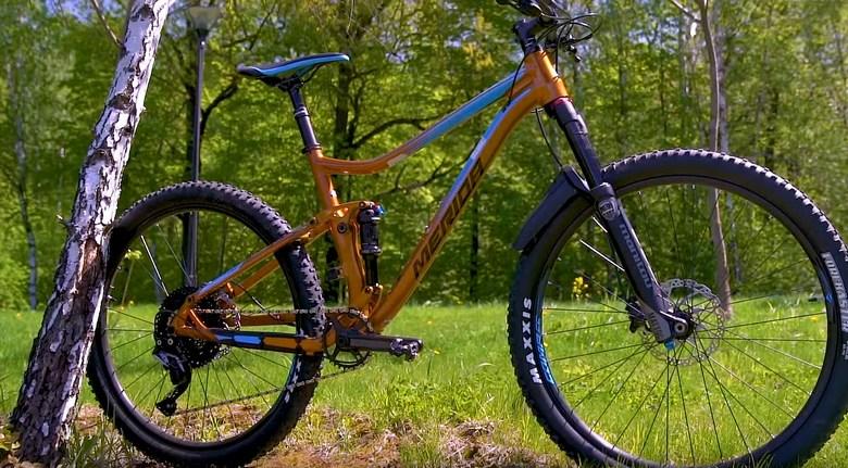 велосипед двухподвес фото