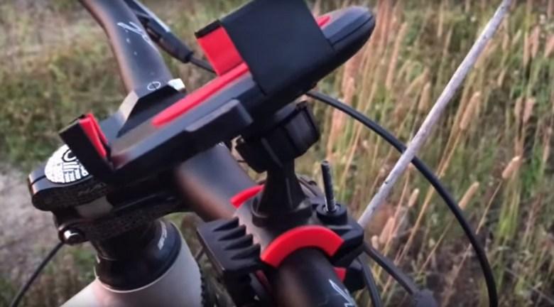 крепление смартфона на велосипед фото