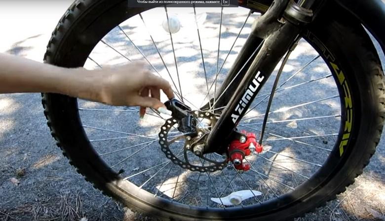 замок на велосипед фото 4