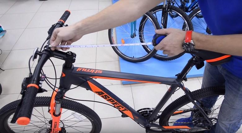 измерение размера рамы горного велосипеда фото 2
