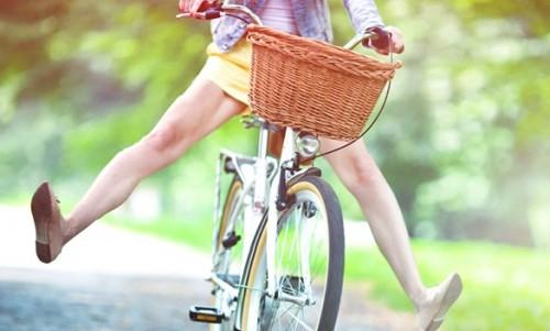 как научиться взрослому кататься на велосипеде фото