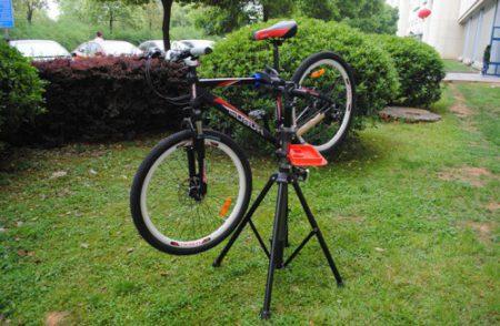 Стойка для велосипеда своими руками фото